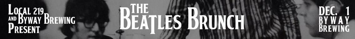 beatles brunch banner