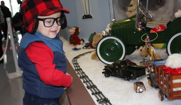 Christmas Story Kid Model Train Hammond Indiana